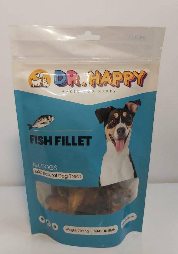 تشویقی سگ با گوشت ماهی