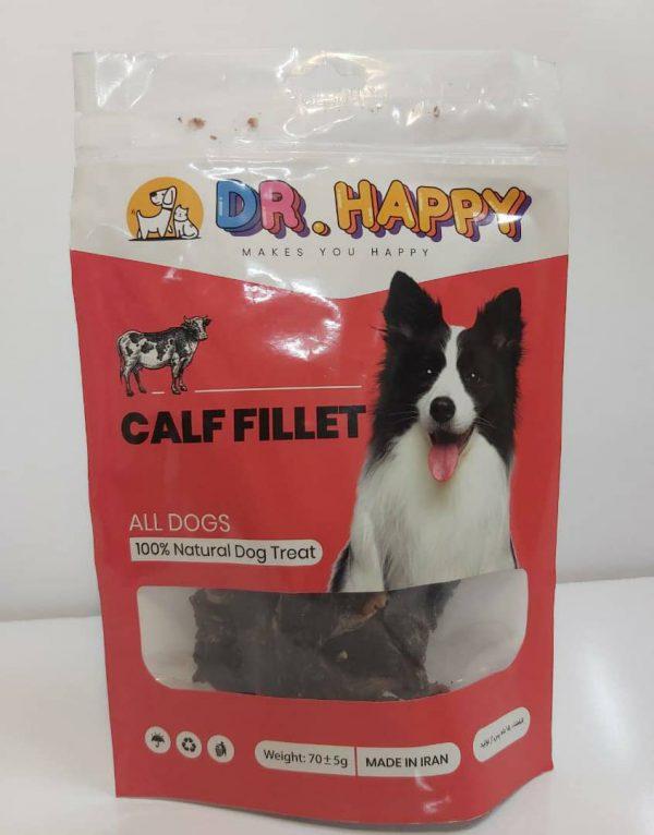 تشویقی سگ با فیله گوساله دکتر هپی – Dr Happy Calf Fillet